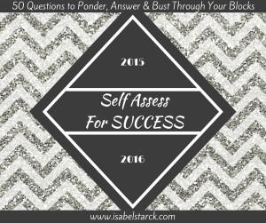 2015-2016 Self Assess For Success